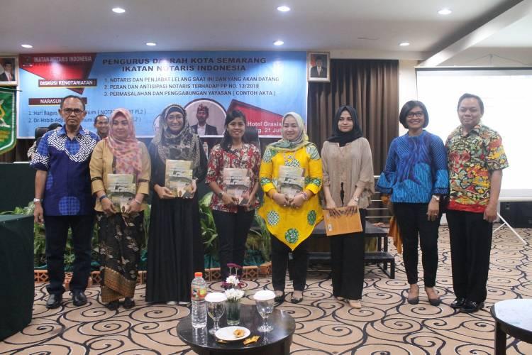 PP.no 13/2018 Dan Permasalahan Penggabungan Yayasan di Seminarkan oleh Pengda INI Kota Semarang Bersama Habib Adjie dan Hari Bagyo.